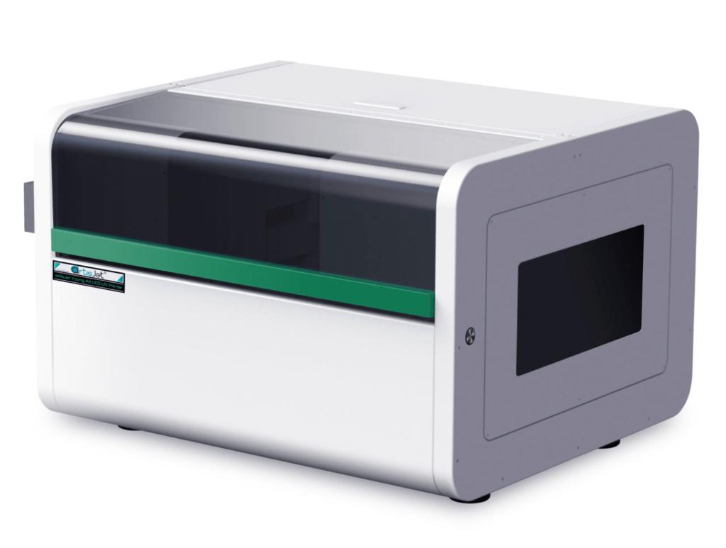 Compact UV printer